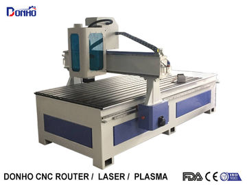 Acrylic Carving CNC Router Milling Machine With T-Slot Table Spindle Protect Shade
